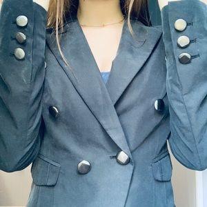 Guess black blazer